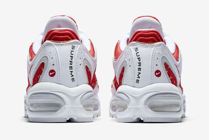 Supreme Nike Tailwind 4 White Red 4