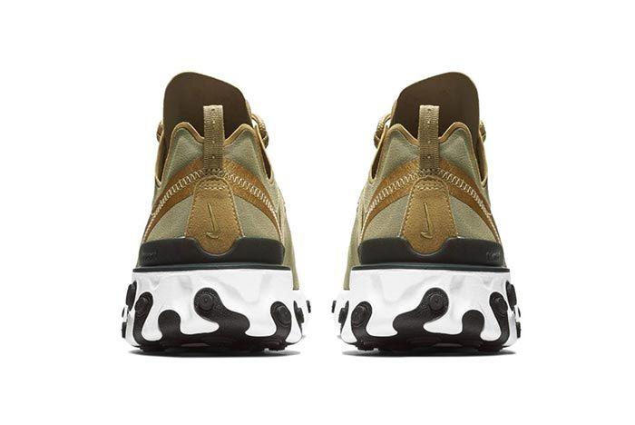 Nike Element React 55 Olive 3