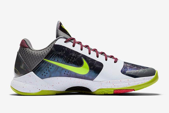 Nike Kobe 5 Protro Chaos Joker Cd4991 100 Medial