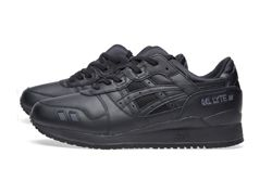Asics Gel Lyte Iii Triple Black Bumper 1