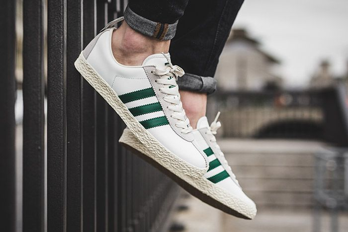 Adidas Trainer Spezial White Green 2