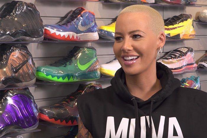 Amber Rose Sneaker Deal