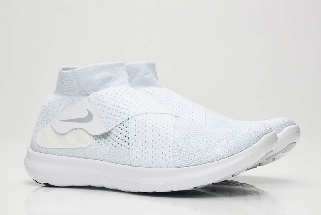 Nike Free Rn Motion 2017 Flyknit Whitegrey 5