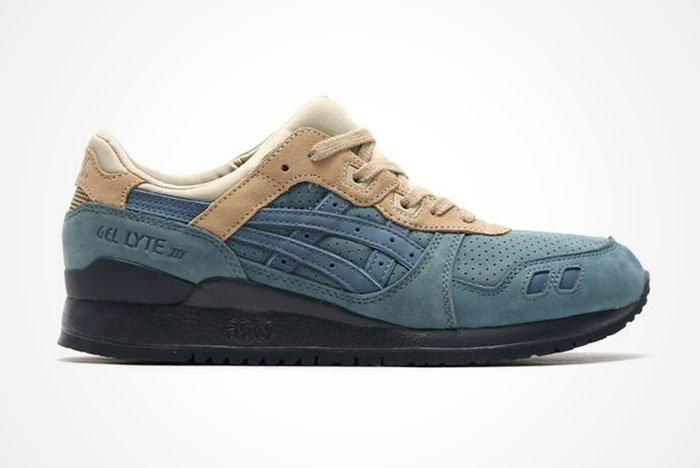 Asics Gel Lyte Iii Blue Mirage Feature