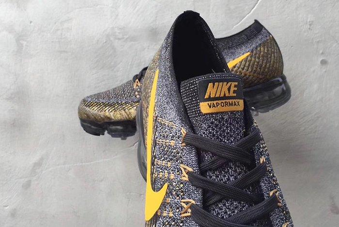 Nike Air Vapormax Yellow Swoosh 3