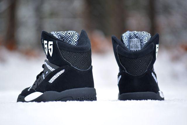 Adidas Mutombo Black White 3