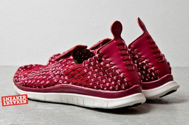 Nike Free Woven Cherry 4