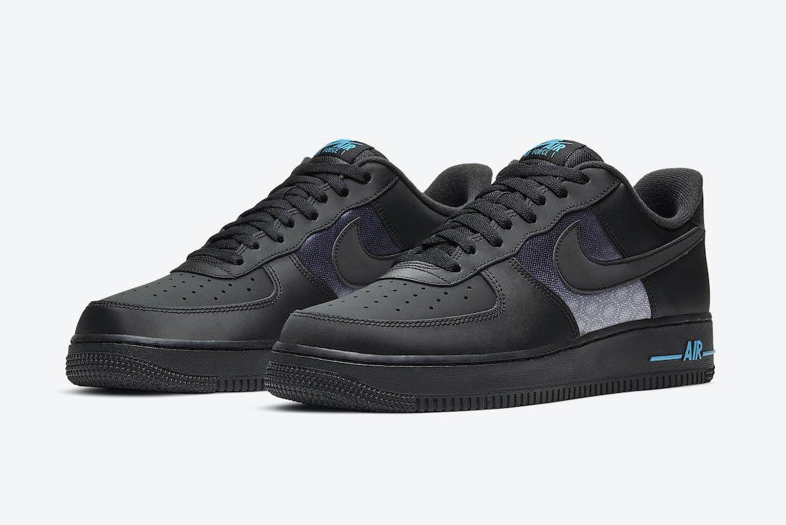 Nike Air Force 1 '3M Swooshes'