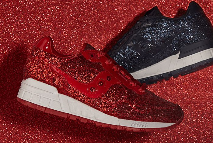 Asos White X Saucony Shadow 5000 Wmns Glitter Pack 5