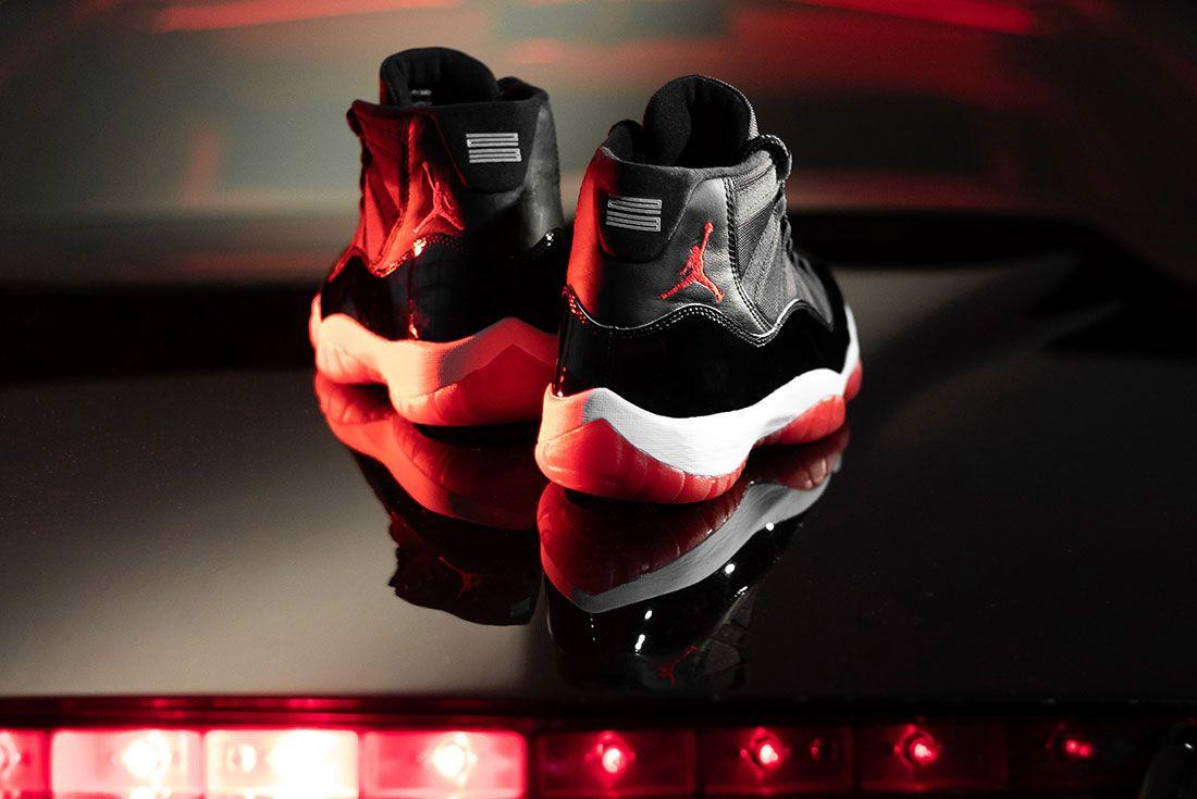 Afew Air Jordan 11 Bred Knight Rider Heel Boot