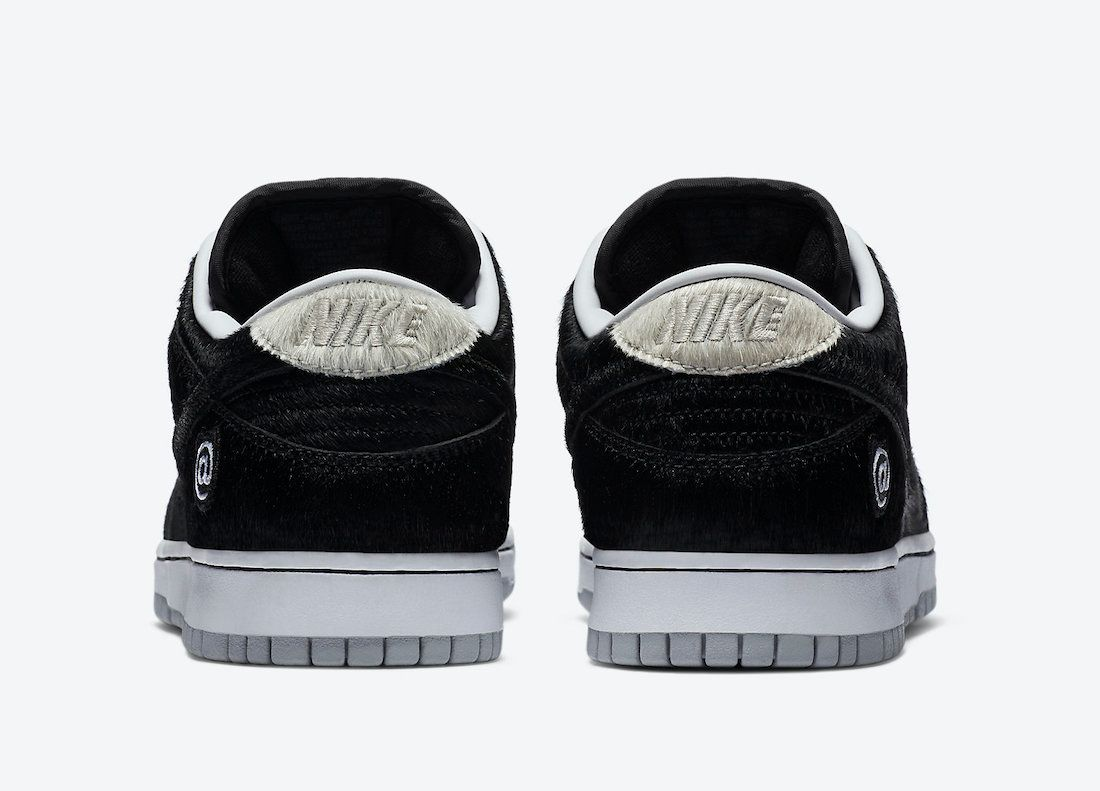 Medicom Nike SB Dunk Low Bearbrick Heel