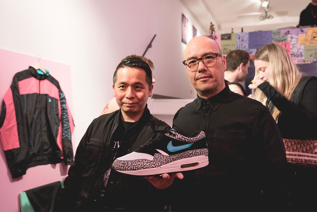 Nike Air Max2 Light Atmos Event Solebox Amsterdam Koji6