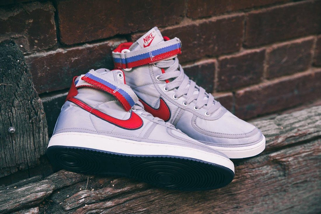 Nike Vandal High Supreme Qs Metallic Silver 3