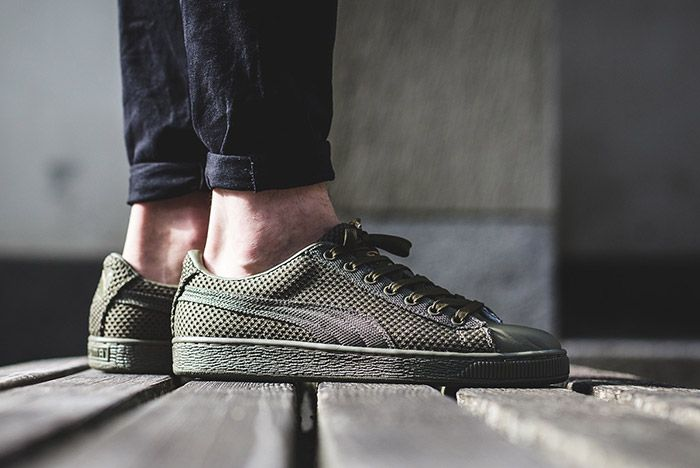 Puma Basket Tech Green 3