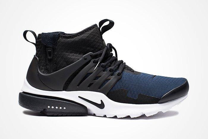 Nike Air Presto Mid Utility Black Obsidian2