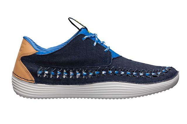 Nike Solarsoft Moccasin Qs Nautical Flag Blue