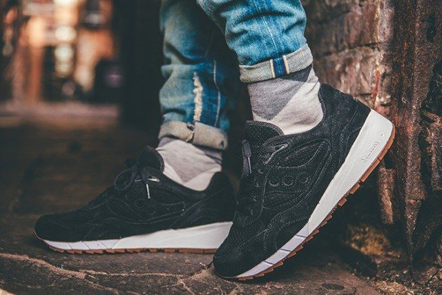 Saucony Irish Coffee Pack On Foot 13 640X4271