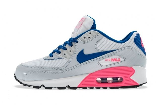 Nike Air Max 90 Gs 2007 Hyperblue Digipink Profile 1