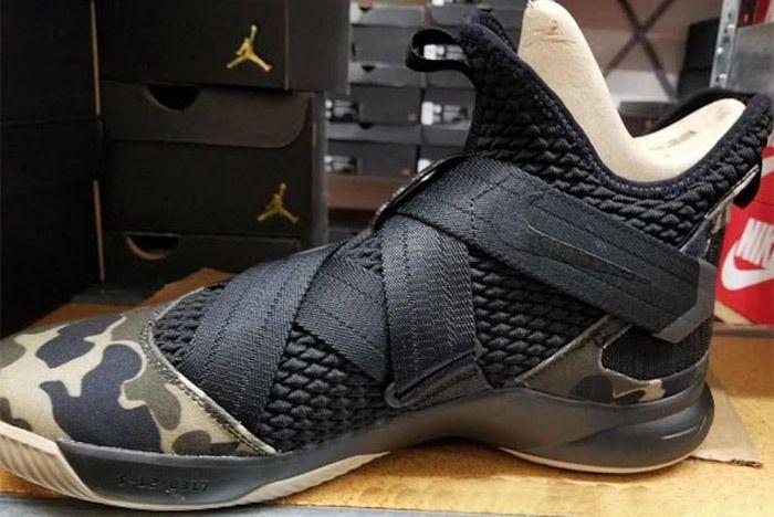 Nike Le Bron Soldier 12 Sfg Camo Ao4054 001 Side