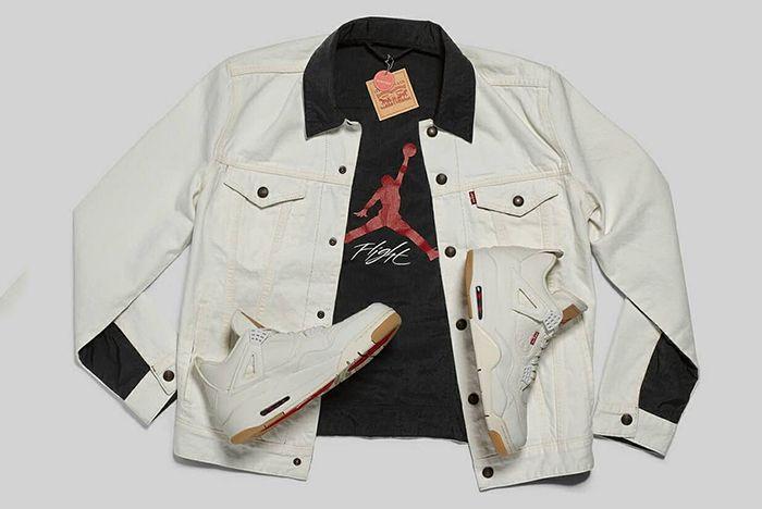 Levis Jordan Jacket White Sneaker Freaker