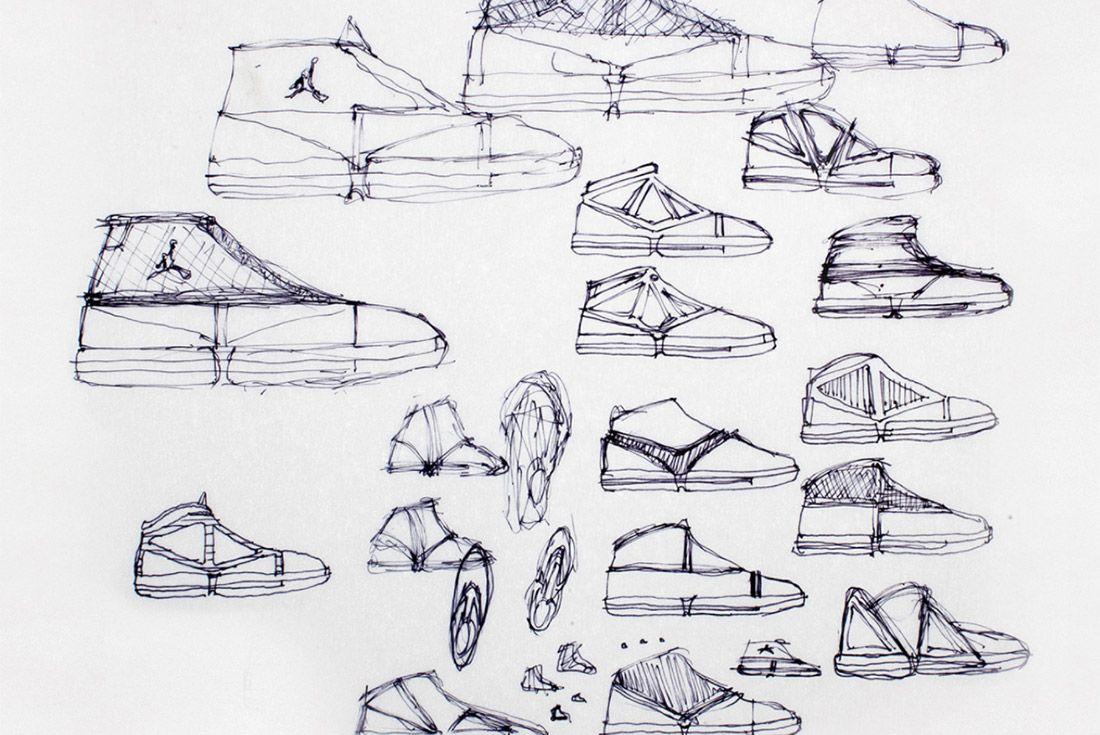 Material Matters Jordan Brand Jordan 16 Concept Sketch 1