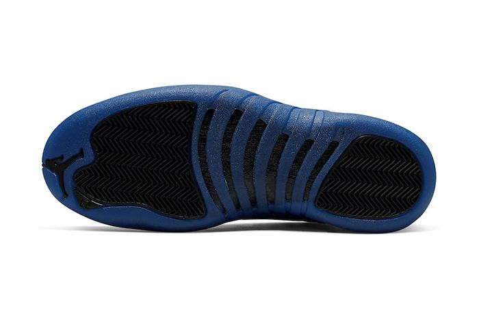 Air Jordan 12 Black Game Royal Official 130690 014 Release Date Outsole