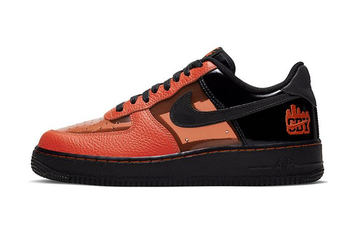 Nike Air Force 1 Low Shibuya Halloween 2019 Ct1251 006 Release Date Lateral