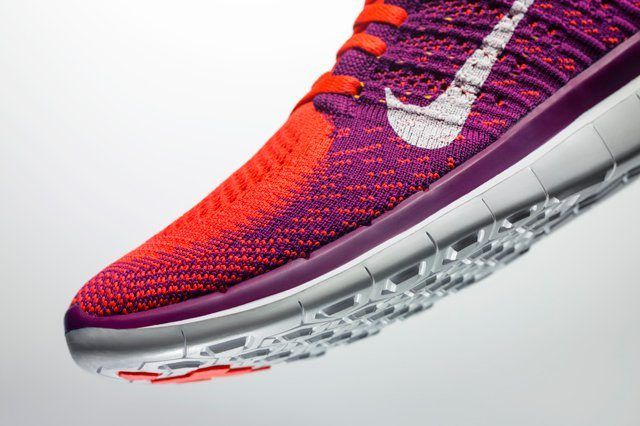 Nike Free 4 Pnk Toebox