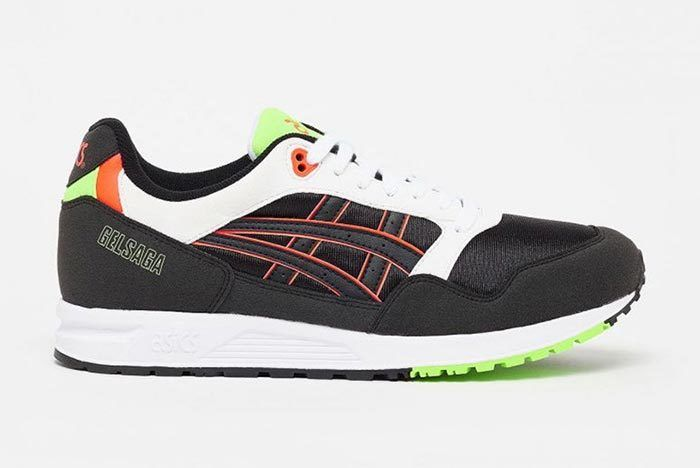 Asics Gel Saga Shock Orange 5