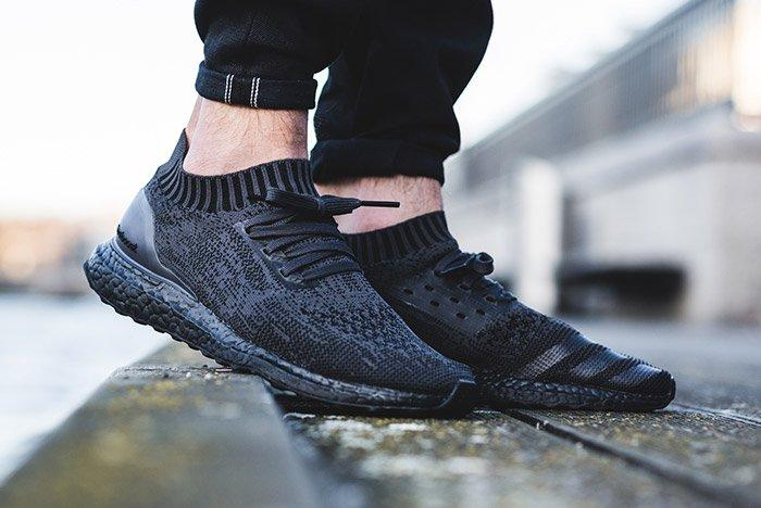 Adidas Ultra Boost Uncaged Pitch Triple Black On Foot 3