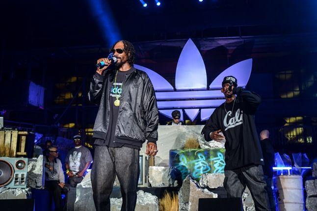 Adidas Originals Los Angeles Pop Up Concert Snoop Dogg 1