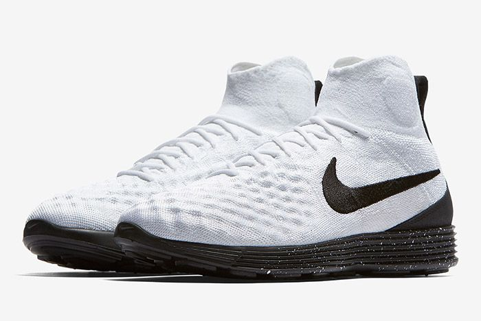 Nike 0 Lunar Magista Ii Flyknit White Black 6