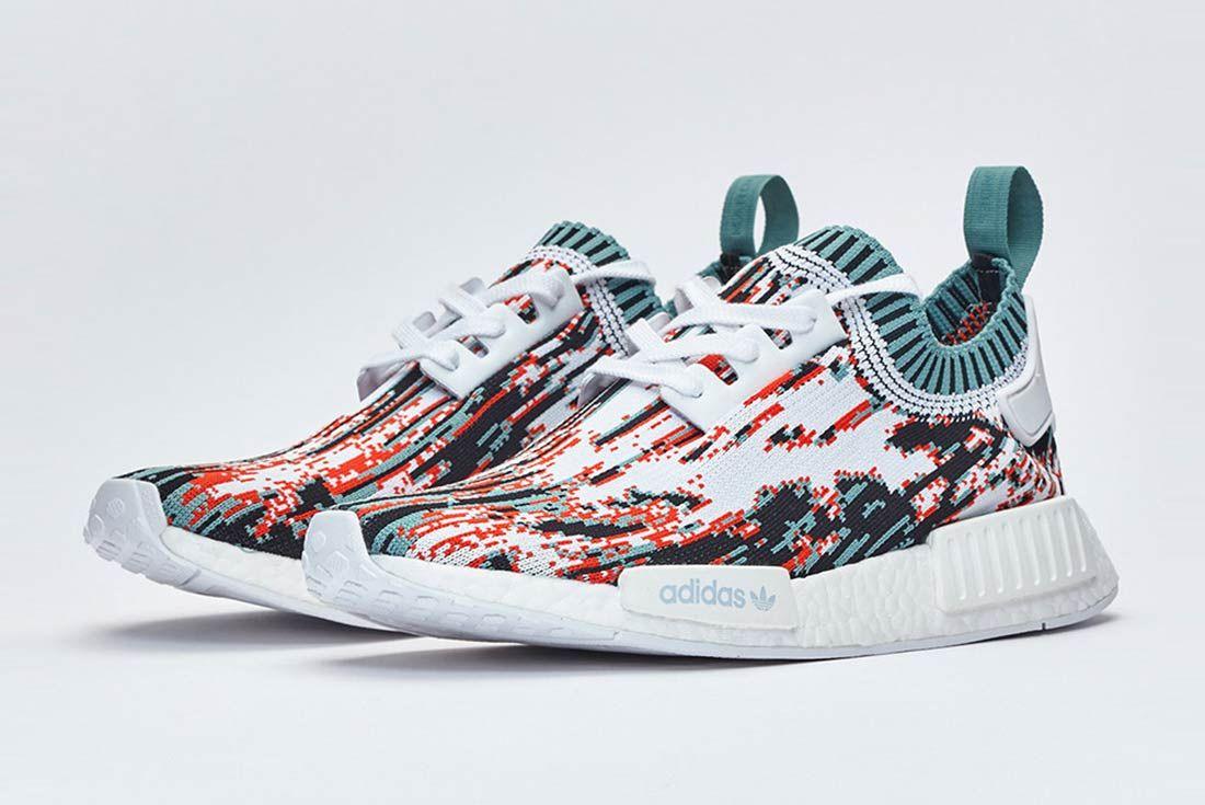 Sneakersnstuff X Adidas Nmd R1 Datamosh Pack 10