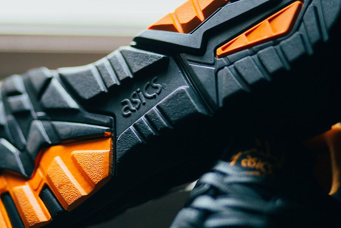 Porter Asics Gel Kayano Trainer Black Orange 2