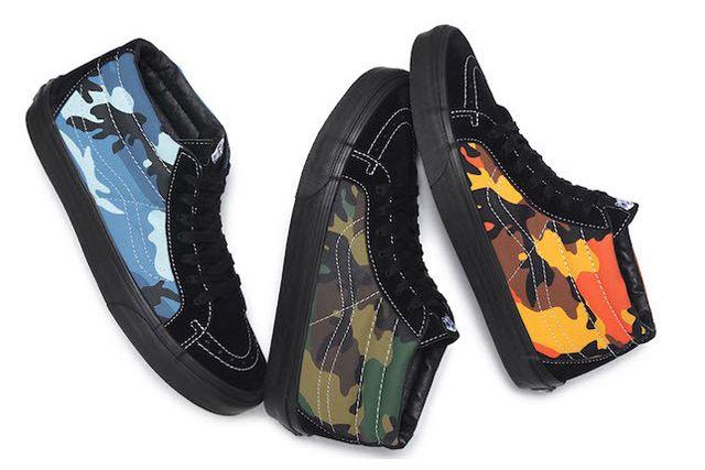 Supreme X Vans Camo Pack 5