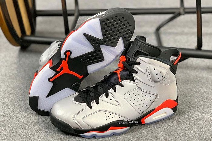 Air Jordan 6 Reflective Infrared Side