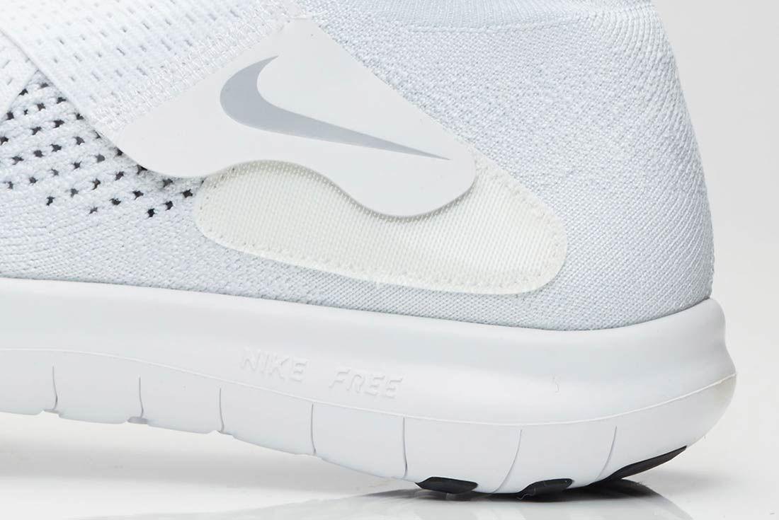Nike Free Rn Motion 2017 Flyknit Whitegrey 4