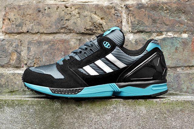 Adidas Originals Zx 8000 Boonix Bright Cyan 1
