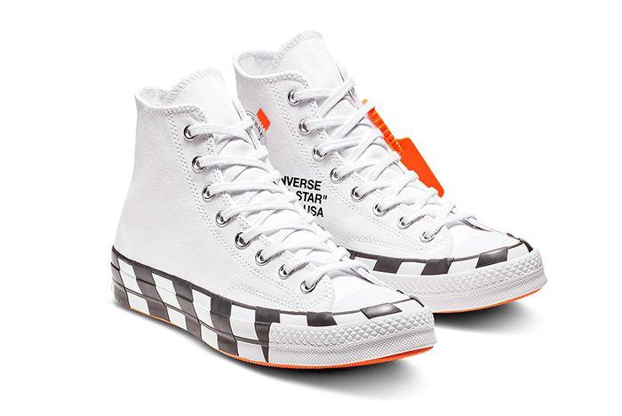 Off White Converse Chuck 70 Stripe White Official 1