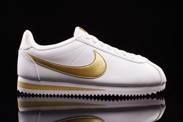 Nike Cort Ezleather White Gold 1