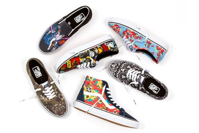 Vans X Star Wars Classics Footwear Collection