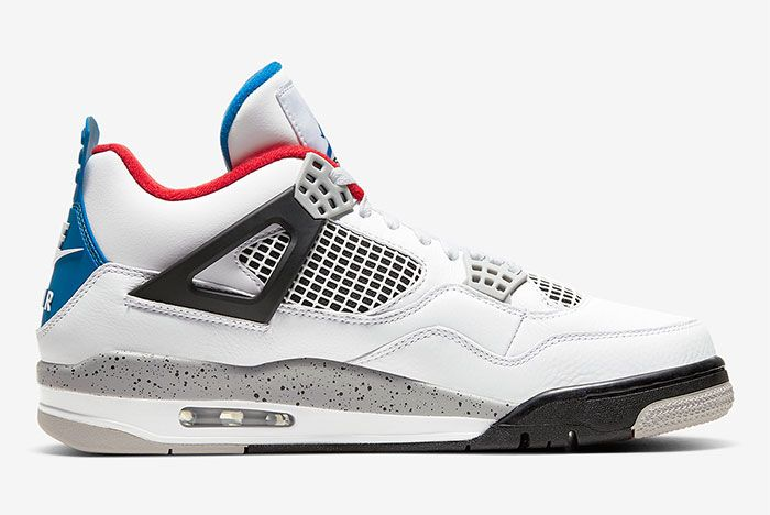 Air Jordan 4 What The Right