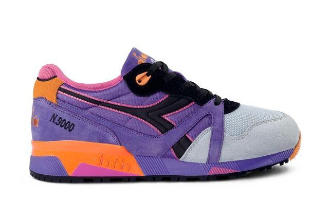 N9000 Nyl Purple Orange Grey