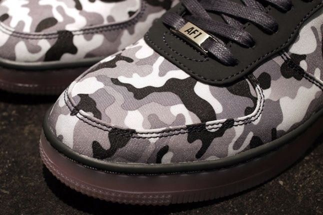 Nike Air Force Downtown Camo Toebox 1