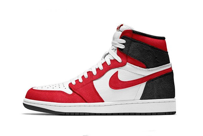 Air Jordan 1 Black White Gym Red 555088 062 Release Date