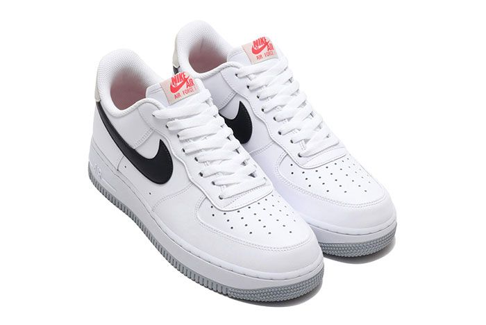 Nike Air Force 1 Low White Black Bone Ember Glow Ck0806 100 Front Angle