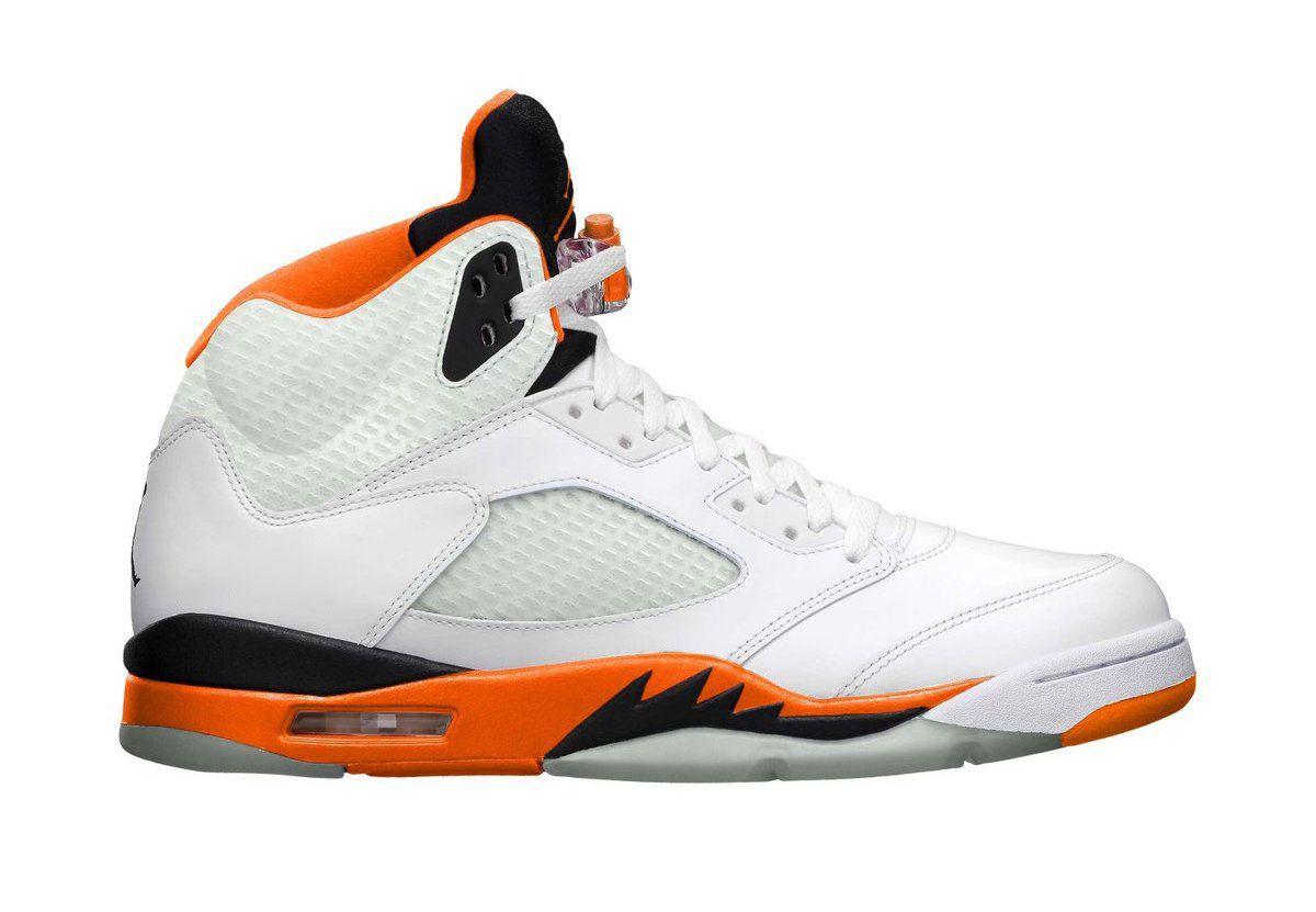 Air Jordan 5 Total Orange 2021