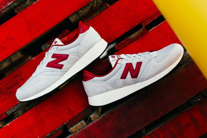 New Balance 420 Revlite Grey Red 7