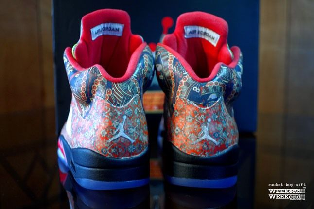Air Jordan 5 Rocket Boy Nift Custom Heels 1