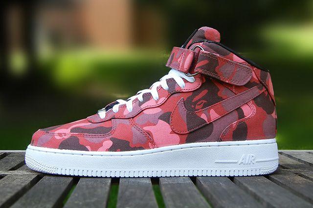 Jbf Customs Nike Air Force 1 Bape Camo 21